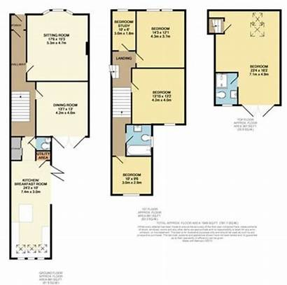Victorian Terrace Terraced Floorplan Floor Plans Bedroom