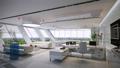 modern ceo office interior design white unconventional office space design 37197