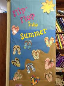 Spring Classroom Door Decorations Ideas by Summer Bulletin Board Door Crafts And Worksheets For