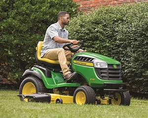 Like A Rock  A Closer Look At The John Deere Riding Lawn Mower