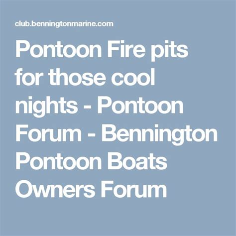 Pontoon Boat Owners Forum by 1000 Ideas About Pontoon Boating On Pinterest Pontoon