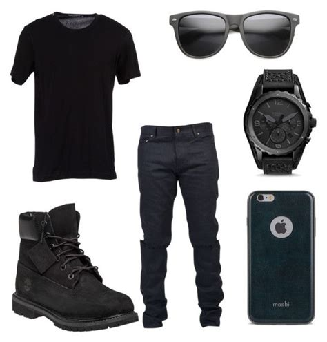 All Black Party Outfit for Men | Black party Party outfits and Timberland