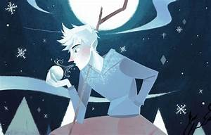 Wallpaper Jack Frost, Nadiezda, art, guy, snowflakes, Jack ...