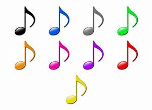 Colored Music Notes - ClipArt Best