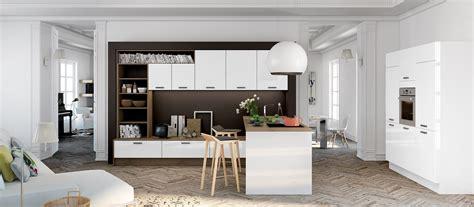 cuisine contemporaine avec ilot central cuisine contemporaine avec îlot cuisines cuisiniste aviva