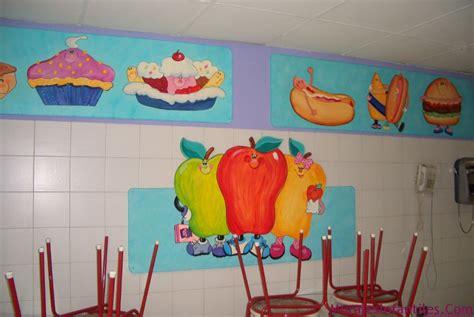 espacios publicos murales infantiles decoraciones