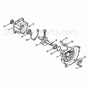 Stihl Ht 73 Pole Pruner  Ht73  Parts Diagram  Crankcase