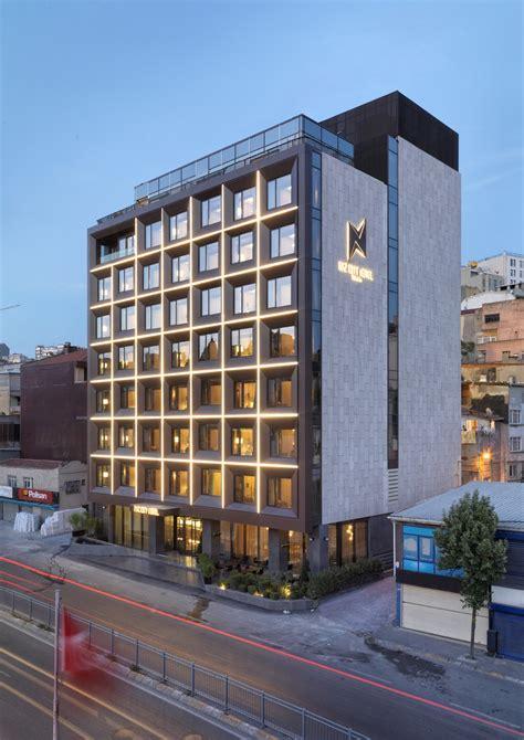 naz city hotel taksim metex design archdaily
