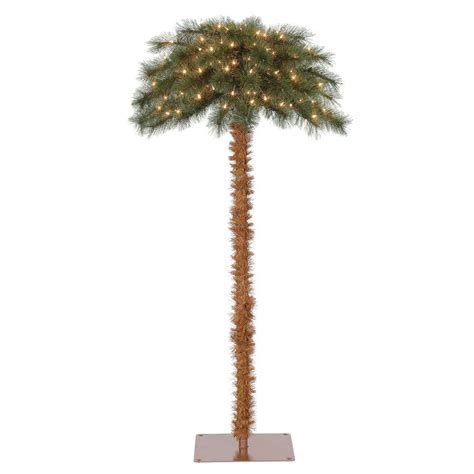 tropical lighted christmas tree island 5 pre lit artificial tropical palm tree w white lights ebay