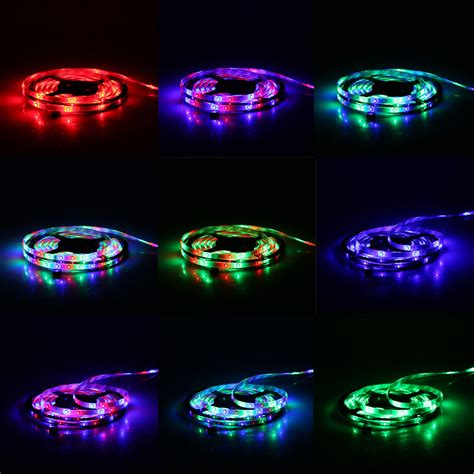 Rgb Smd Led Flexible Strip Light Kit Full Set