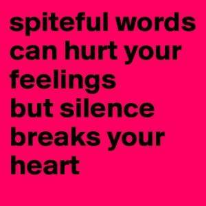 Quotes About Hu... Spiteful Definition