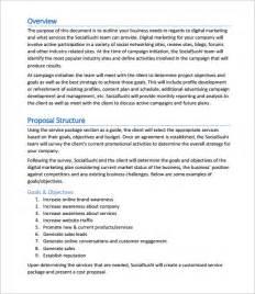 Marketing Proposal Sample Templates