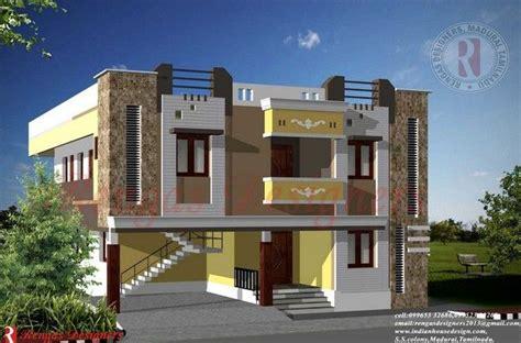 indian house design double floor buildings designs
