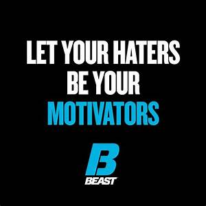 """""""Let Your Hat... Workout Haters Quotes"""
