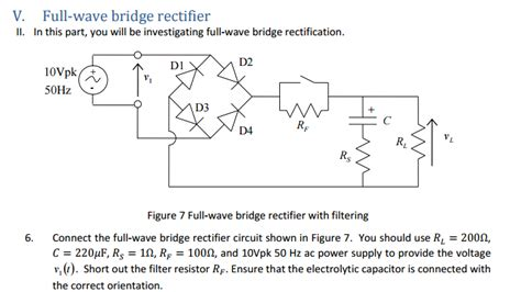 full wave bridge rectifier circuit  multisim