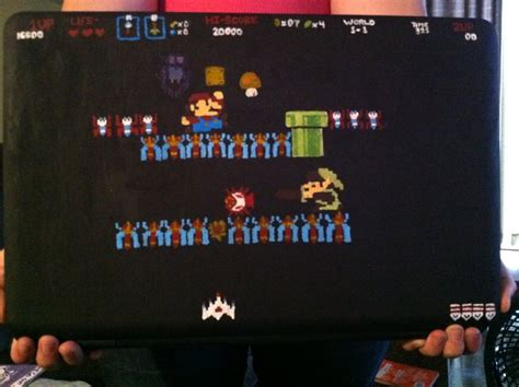 Mario Legend Of Zelda Galaga Crossover By Moflip On Deviantart