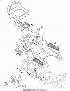 Mtd 13al605h057  2009  Parts Diagram For Fender  Deck Lift