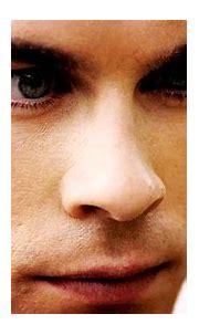 damon salvatore, elena gilbert, eye, handsome - image ...