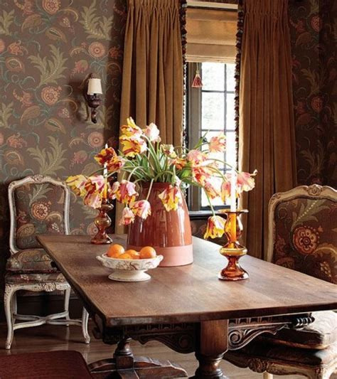 wallpaper  country french style inspiring interiors