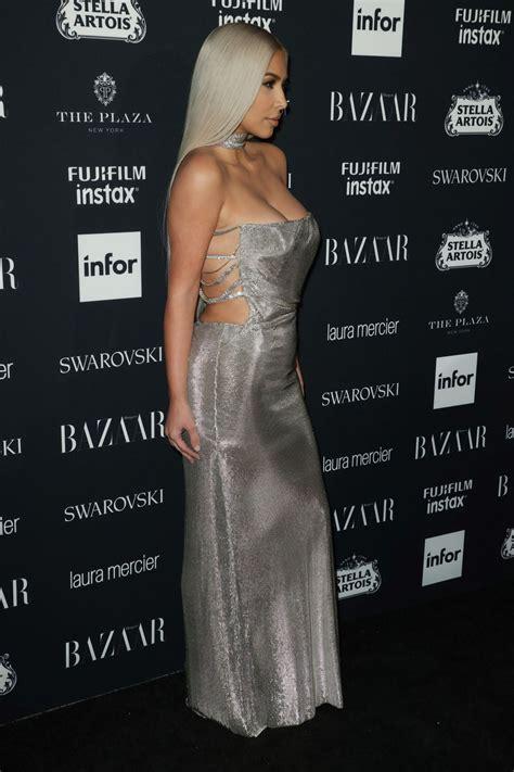 Kim Kardashian – Harper's Bazaar ICONS Party at NYFW 09/08 ...