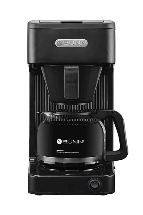 It can heat a minimum of 4 cups and up to 10 in. BUNN CSB1B Speed Brew Select Coffee Maker, Black | Bunn coffee maker, Industrial coffee maker ...