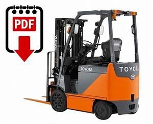 Toyota Forklift Service Manual 8fbcu20 Series