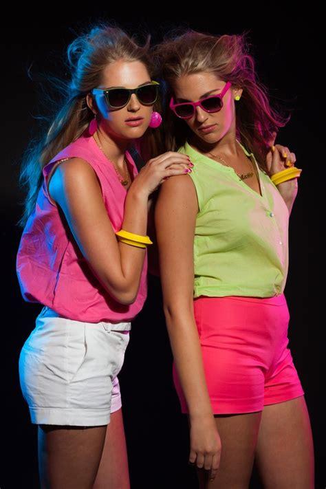 80er Jahre Look  80er Jahre Mode