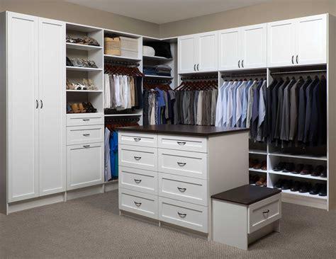 az custom walk in closet organization systems