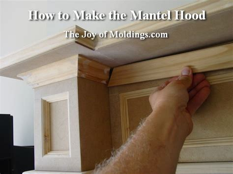 how to make a fireplace mantel plans for building fireplace mantel woodproject