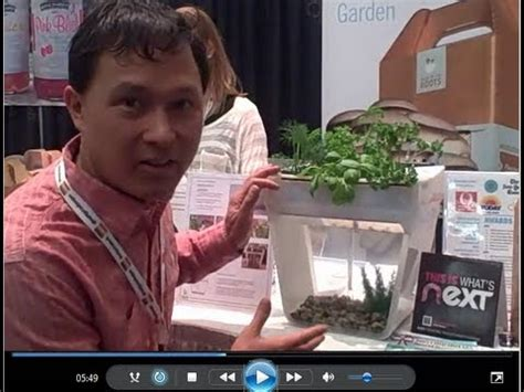 cooking at your desk 60 home aquaponics system grows food on your desk youtube