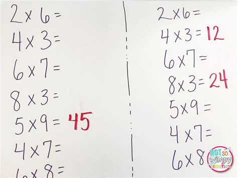 diary of a not so wimpy free multiplication math