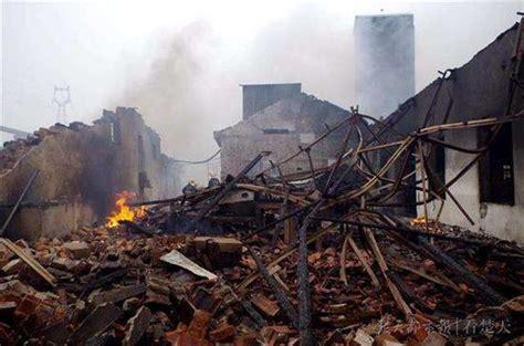汉川工厂着火整座厂房被毁 幸未造成人员伤亡_新浪湖北_新浪网
