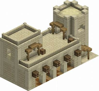Ancient Fortress Minecraft Harad Lord Rings Mod