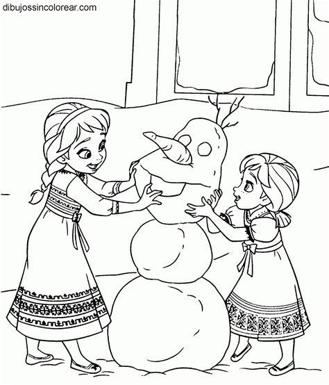 Permalink to Frozen Para Colorear