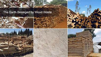 Wood Waste Molded Pallets Raw Material Thoyu