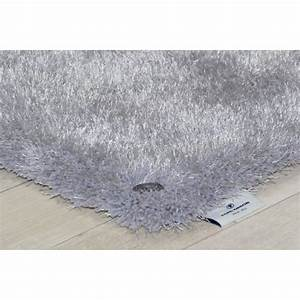 tapis shaggy soft gris tom tailor achat vente tapis With tapis gris pailleté