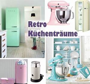 Küche Retro Stil : retro k che smeg kitchenaid wesco pushboy bonbonfarben 50s kitchen 50er k che pinterest ~ Watch28wear.com Haus und Dekorationen