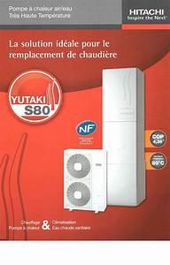 Avis Pompe A Chaleur Air Air : pompe chaleur air eau hitachi yutaki s80 18 kw monophas ~ Premium-room.com Idées de Décoration