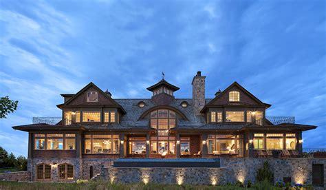 shingle style luxury house plans  portsmouth ri