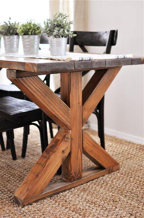 farmhouse  base table buildsomethingcom