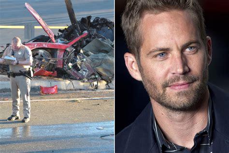 Actor Paul Walker dies in fiery car crash