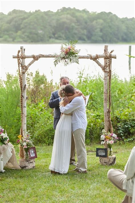 25 best ideas about wedding arch tulle on lake wedding decorations wedding canopy