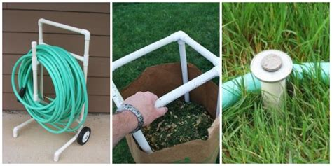 brilliant pvc pipe projects   yard garden