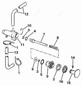 Johnson 1984 25 - J25rcrd  Manual Primer System