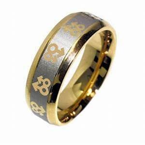 Lesbian Wedding Ring Gay Pride Ring Stainless Steel Same
