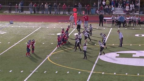 big hit  youth  league football game youtube
