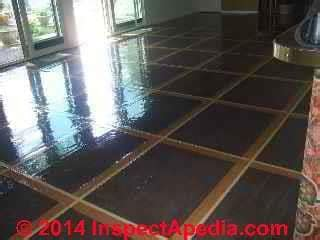 reduce  hazard floor tiles    asbestos