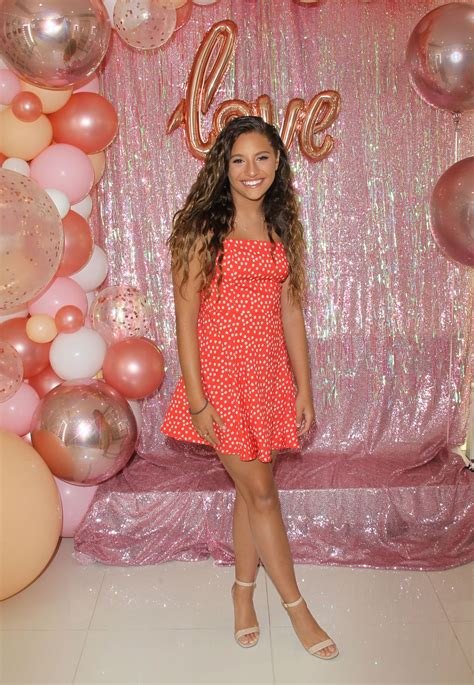 mackenzie ziegler launches  beautyline love kenzie