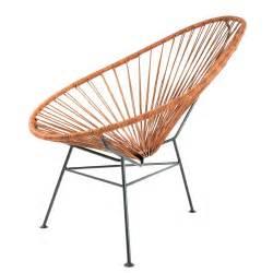 siege en forme de le fauteuil acapulco cuir d 39 acapulco design