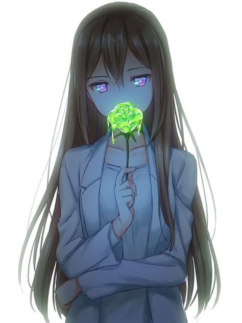 anime girl cool pics anime girl oh my god a toxic flower that is so freaking